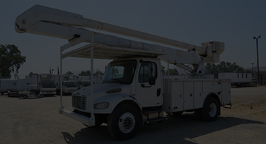 Rear Mount Boom Bucket Truck